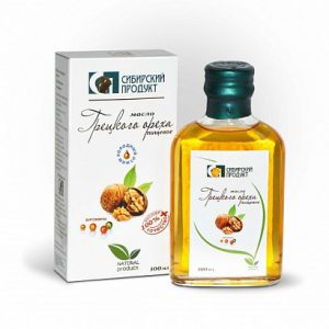 масло грецк.орех 100 (сибпродукт)