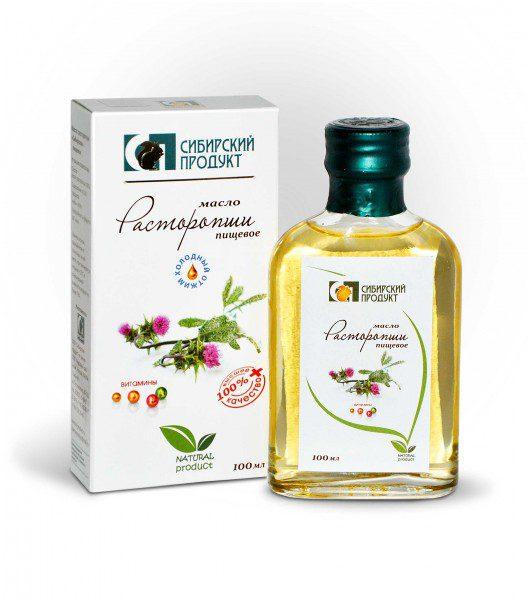 масло расторопши (сиб продукт) 100